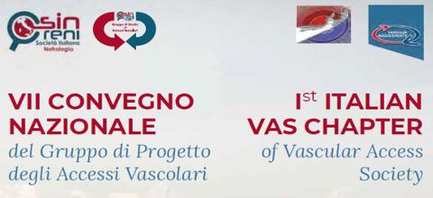 """1° CONGRESSO ITALIANO DELLA """"VASCULAR ACCESS SOCIETY"""" – 17 Novembre 2018"""